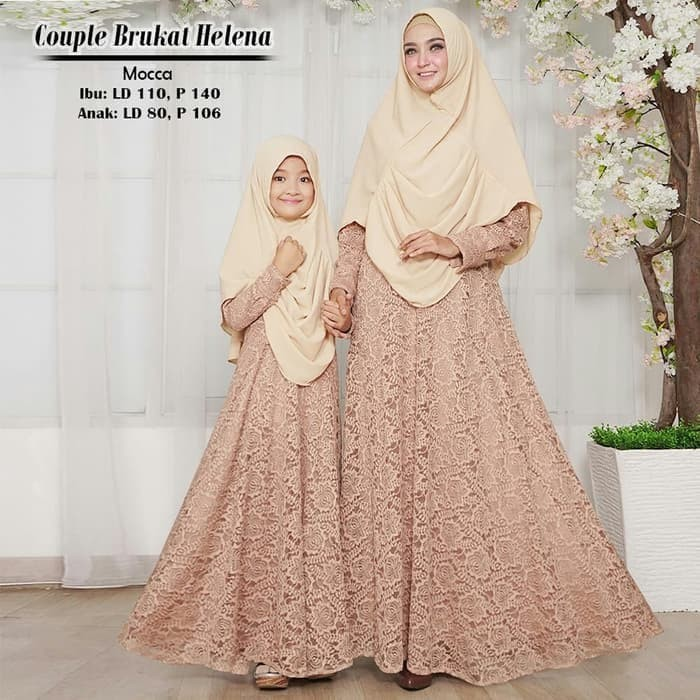 Jual A69 Baju Gamis Pesta Muslim Couple Ibu Dan Anak Hanisa Jakarta Pusat Gamisku Olshop Tokopedia