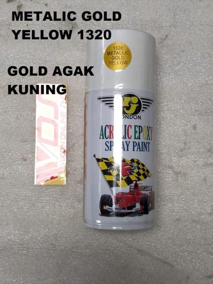 harga Cat kaleng semprot pylox merk rj 150 cc metalic gold gold metalic aga Tokopedia.com