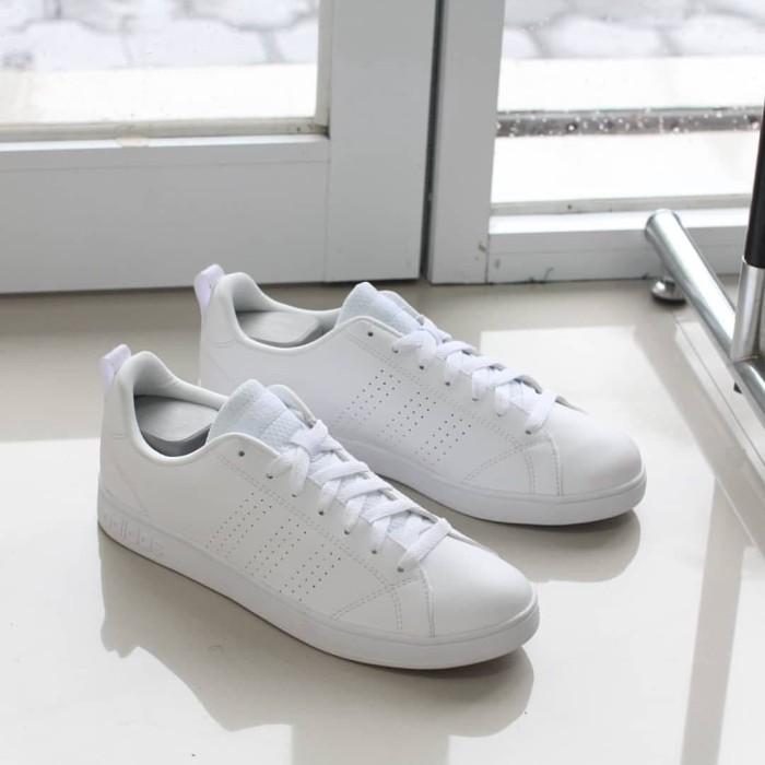 Jual Murah Sepatu Adidas Neo Advantage Full White Original Sneakers ... ac23717a75