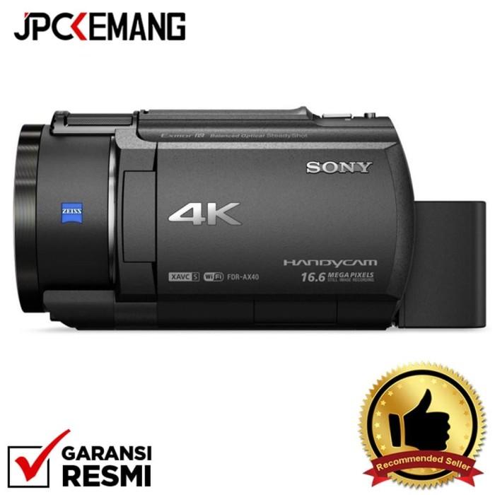 harga Sony camcorder fdr-ax40 / fdr ax40 garansi resmi Tokopedia.com