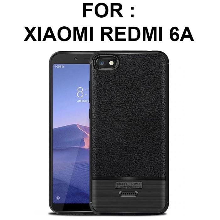 super popular 382a2 dff89 Jual LEATHER ARMOR case Xiaomi Redmi 6 - Redmi 6A softcase casing hp cover  - Jakarta Barat - Casing handphone murah | Tokopedia