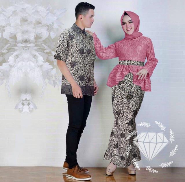 Jual Setelan Wanita Muslim Couple Kebaya Batik Modern Keyli Jakarta Pusat Dzikrimoeslimcollection Tokopedia