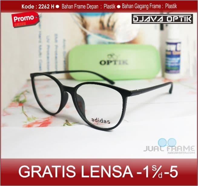 Jual Kacamata Lensa Minus Plus Antiradiasi uv Wanita Pria bulat ... 12691ad258