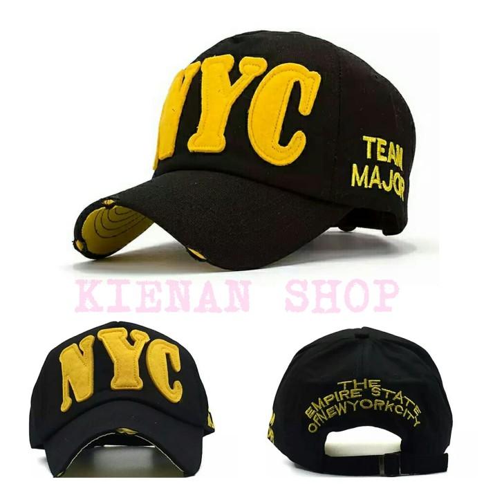 Jual Topi baseball import bordir NYC pria wanita trucker - KIENAN ... 4d6937d2f4