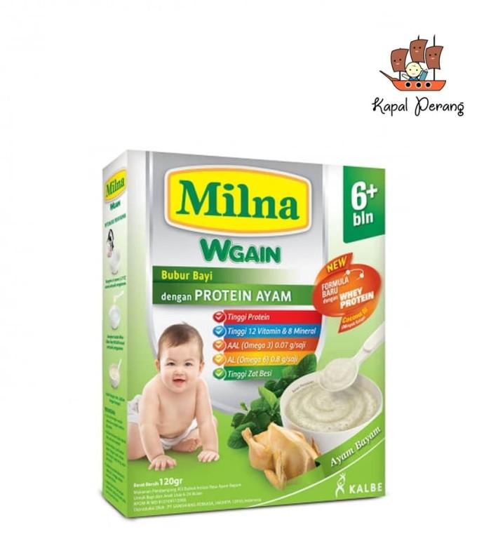 harga Milna bubur bayi wgain 6 bl ayam bayam 120 g Tokopedia.com