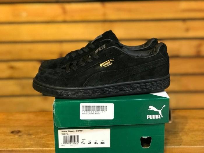 Jual Sepatu Puma Suede Classic All Black Kota Bandung SNEAKERS TRUSTED PREMIUM   Tokopedia