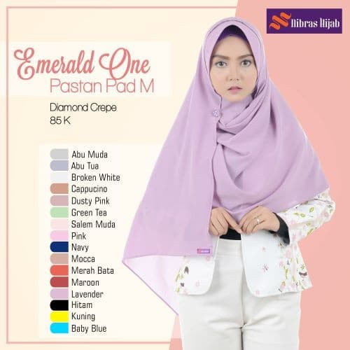 Jual Pashmina Instan Nibras Emerald One Pashtan Pad M Kota Depok Galeri Fashion Muslim Tokopedia