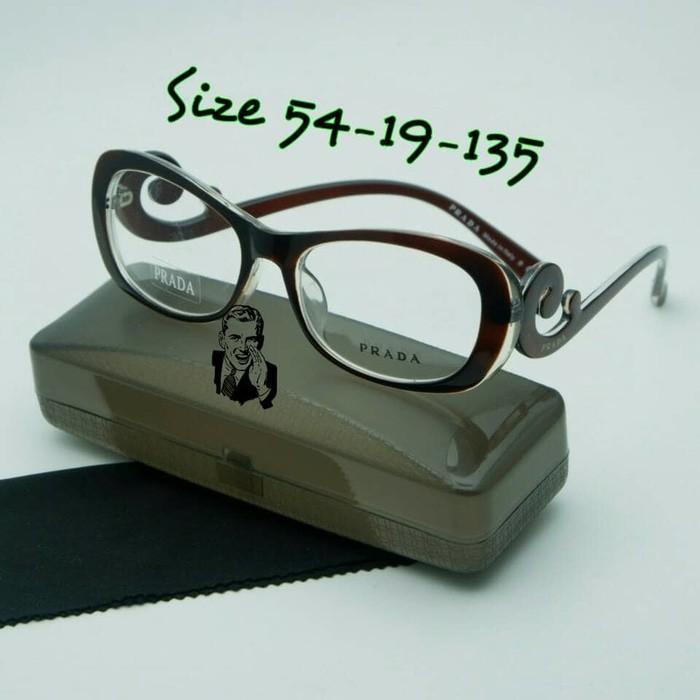 Jual Kacamata Prada keong cokelat Frame kacamata minus kacamata ... 1a430ded6f