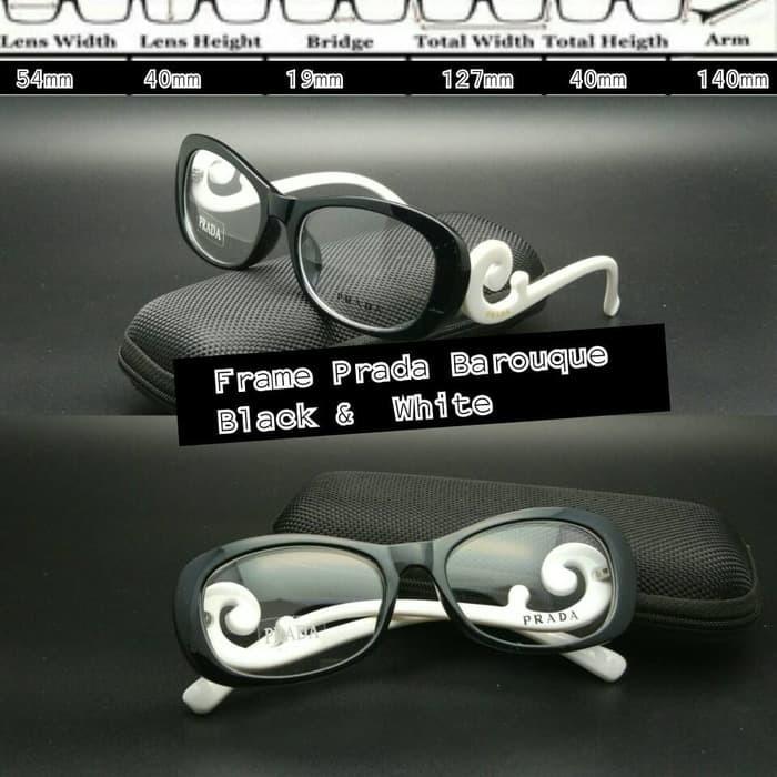 Jual Frame Kacamata Prada keong twotone kacamata minus kacamata ... 5aa14846a1