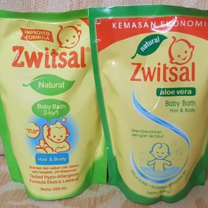 harga Sabun shampoo sampo bayi zwitsal baby bath 2in1 2 in 1 natural 450 Tokopedia.com