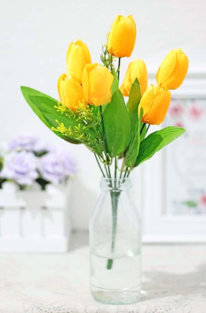 harga Bunga plastik hias artificial artifisial hias tulip shabby chic b1-4  Tokopedia.com fb5418be8a