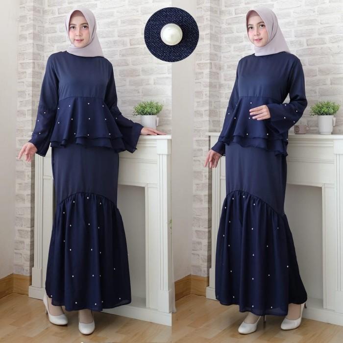 Jual Baju Gamis Maxi Febri Model Duyung Kombi Mutiara Murah Ukuran Jumbo Dki Jakarta Ebay Id Tokopedia