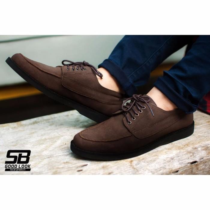 Jual Hugo Darkbrown Sepatu Vintage Klasik Semi Formal Sporty Pria Cowok M Jakarta Pusat Meilin Shop Tokopedia