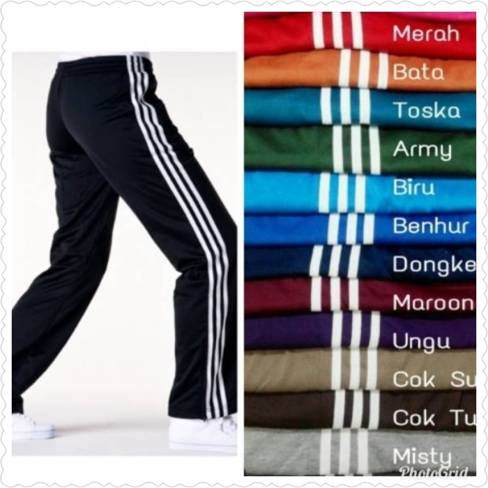 Foto Produk celana trening pria dan wanita harga murah ukuran allsize fit to L - Hitam, 27 dari Fathia shop online