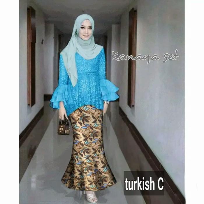 Jual Set Kebaya Wisuda Modern Kebaya Muslim Dress Pesta Gaun Remaja Duyung Jakarta Utara Fika Olshop Store Tokopedia