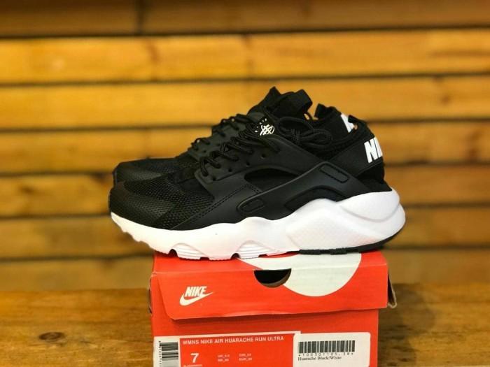 a8c17e87eda80 Jual Sepatu Nike Air Huarache Ultra Black White - SHOPECIOUS.ID ...