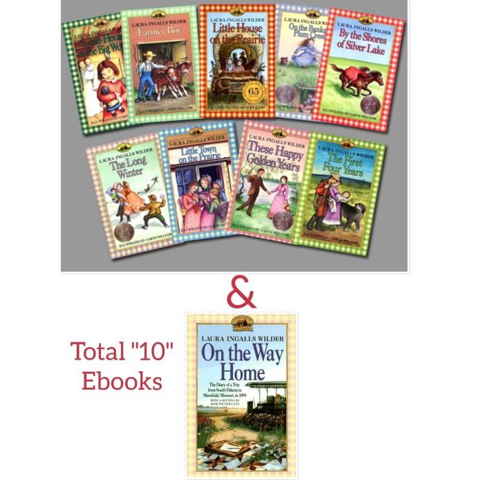 Little House On The Prairie Series Ebook