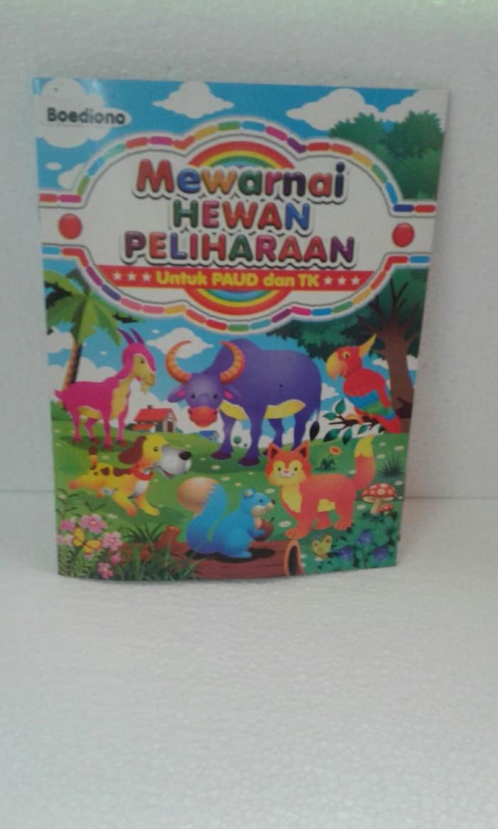 Jual Buku Mewarnai Edisi Mewarnai Binatang Peliharaan Jakarta Utara TOKO BUKU RAMADJA