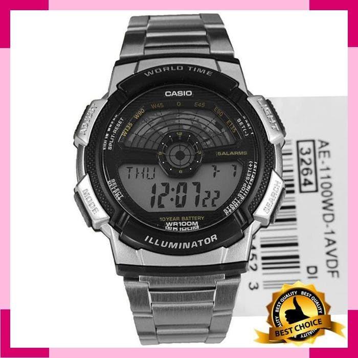Jam tangan Pria Casio AE-1100WD-1A Garansi Resmi original