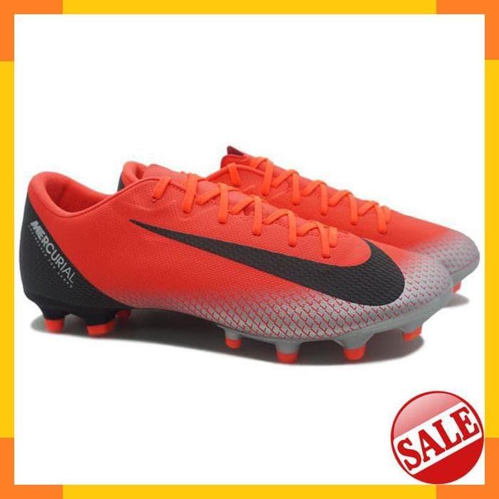 d04e94583 Jual Nike Vapor 12 Academy CR7 FG MG (Bright Crimson Black Chrome ...
