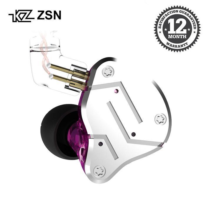 Foto Produk Knowledge Zenith KZ ZSN - In Ear Earphone - HYBRID Dual DRIVER dari Knowledge Zenith Store