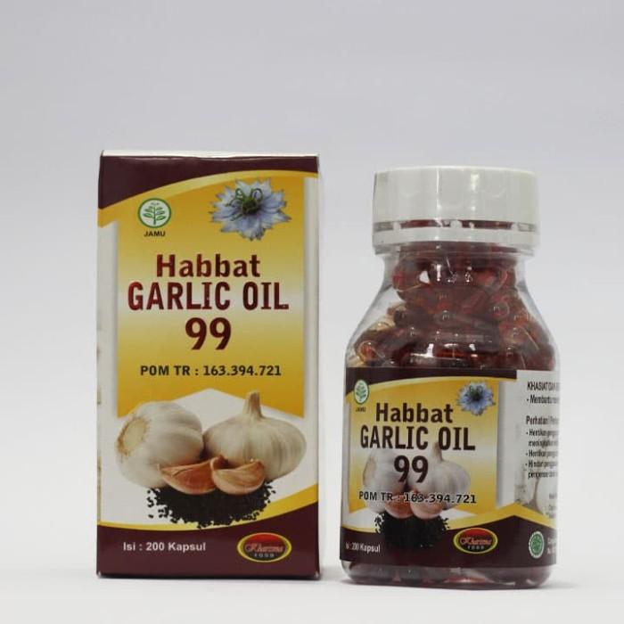Habbat Garlic Oil 99 - 200 Kapusl