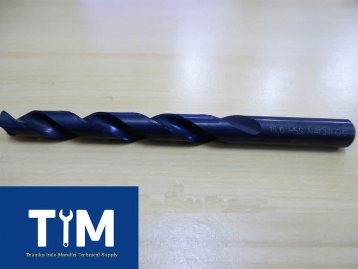 Besi isi 5pcs Ukuran 2mm Berbahan High Speed Steel Dengan Mata Bor YAng runcing Dan ANti