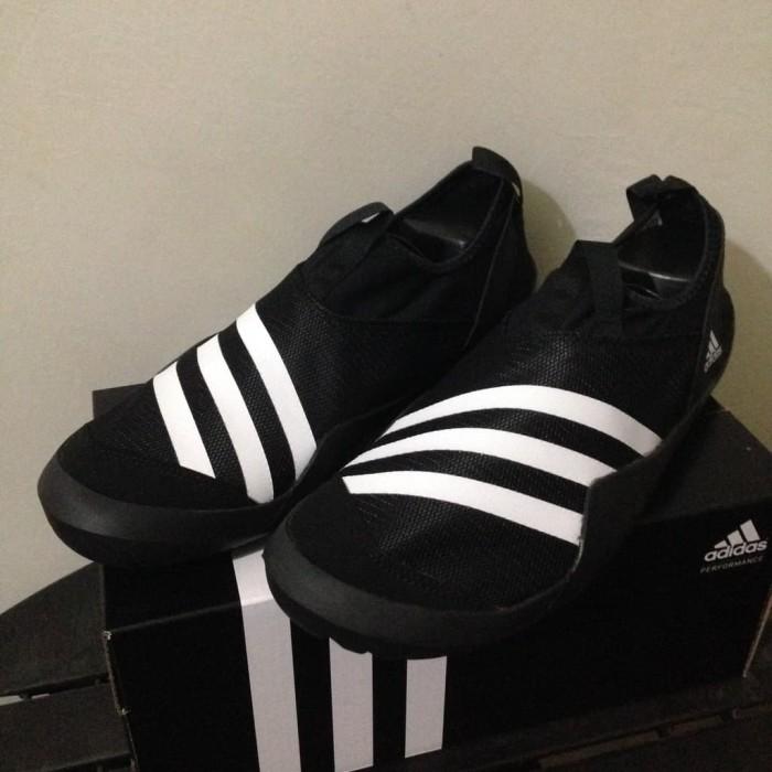 Jual Sale Sepatu Outdoor Adidas Climacool Jawpaw Slip On Black