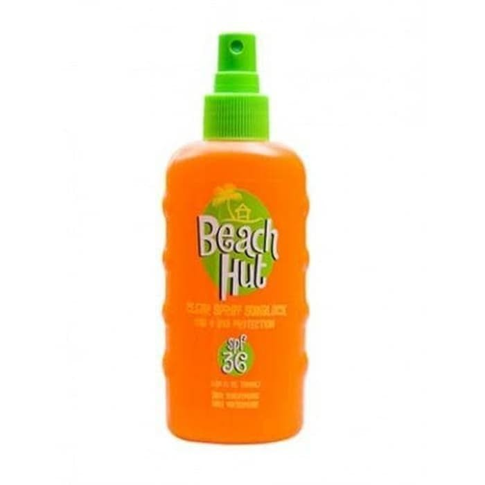 Beach Hut Clear SPRAY Sunblock SPF 36 - 75ml Limited