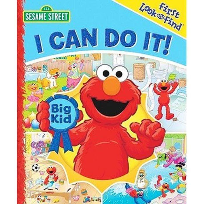 Jual Sesame Street : I Can Do It ! Berkualitas - tulipshop123 | Tokopedia