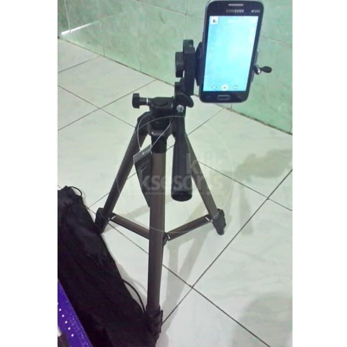 Terupdate Tripod + Holder U Bisa Buat Hp, Bisa Camdig / Handycam /