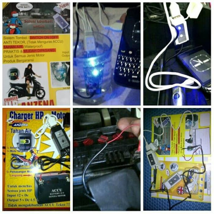 Terhot Casan Di Motor Charger Hp Gps Camera Anzena Usb Waterproof