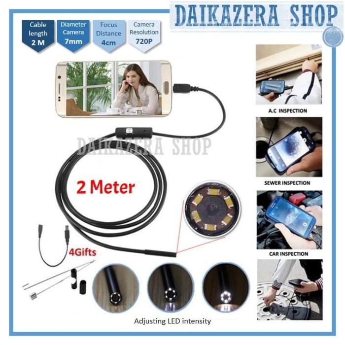 harga Kamera endoscope android 7mm 4cm focal distance 720p ip67 waterproof Tokopedia.com