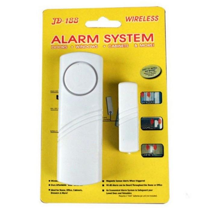 Alarm 83 Jendela Pintu Nirkabel Alarm Anti Maling dengan Sensor Magnet