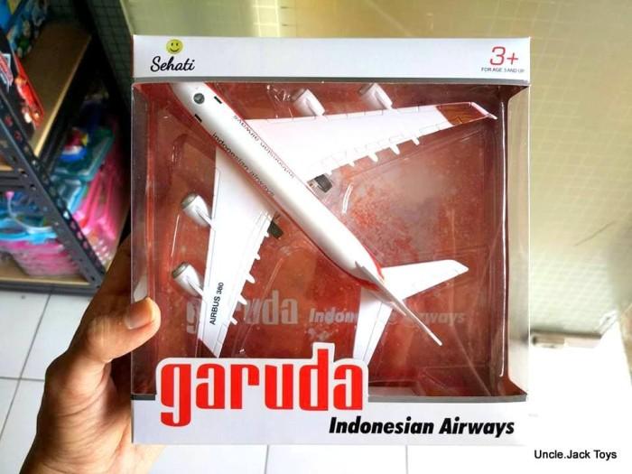 harga Mainan anak - miniatur pesawat mainan - garuda indonesia 2 by sehati Tokopedia.com