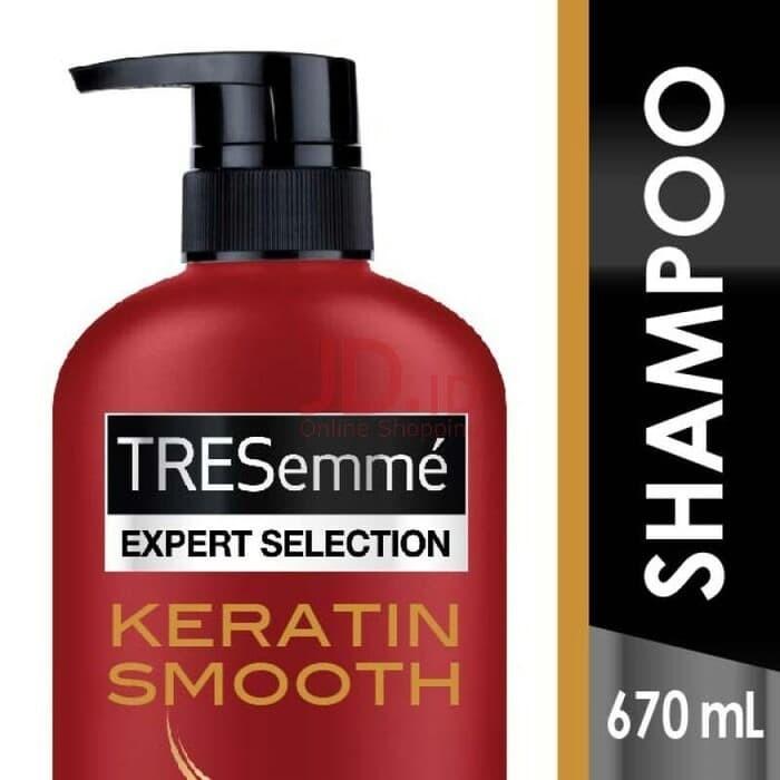 harga Tresemme keratin smooth shampoo 670ml Tokopedia.com