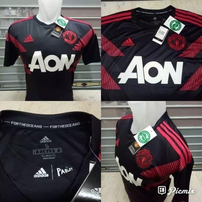 0265809a5 Jual Jersey Manchester United Prematch MU Training 2018-2019 Grade ...