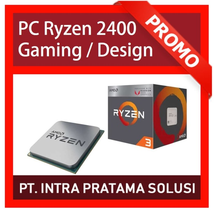 harga Pc gaming bronze - amd ryzen 2400g + ram 8gb ddr4 + hdd 500gb Tokopedia.com
