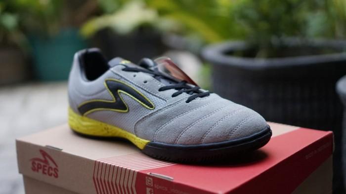 Jual Sepatu Futsal Specs Metasala Rival Palona Grey Solar Slime