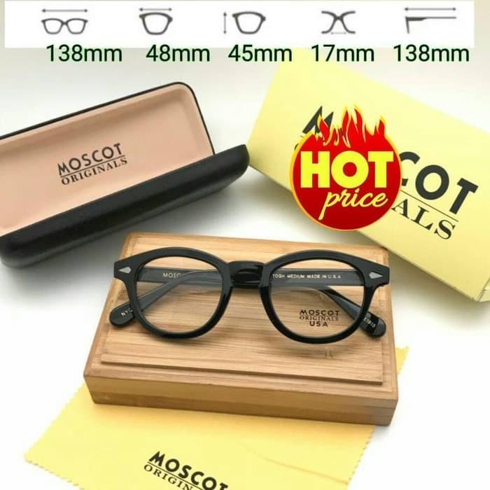 Jual Frame Kacamata Moscot Lemtosh Hitam Glossy - Aryawater  ddcc527a4d