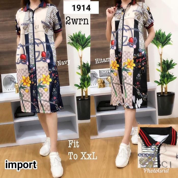 de7d25d634d Jual Dress kemeja gucci import