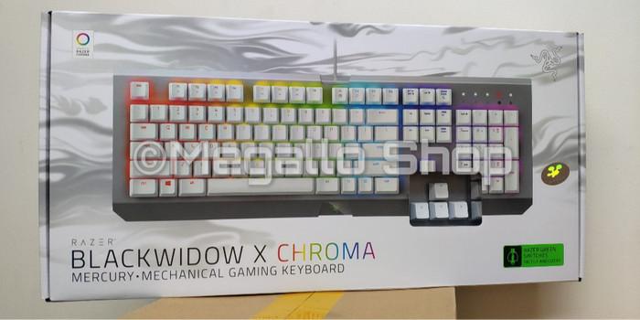 de6e6fbe116 Jual Razer Blackwidow X Chroma Mercury White - DKI Jakarta - Megallo ...