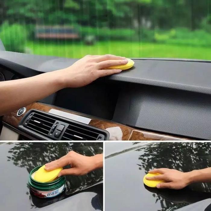Foto Produk Spone Car 12pcs Compressed Sponge Mini Yellow Car Auto Vehicle Glass W - Kuning dari sinar embun pagi hari