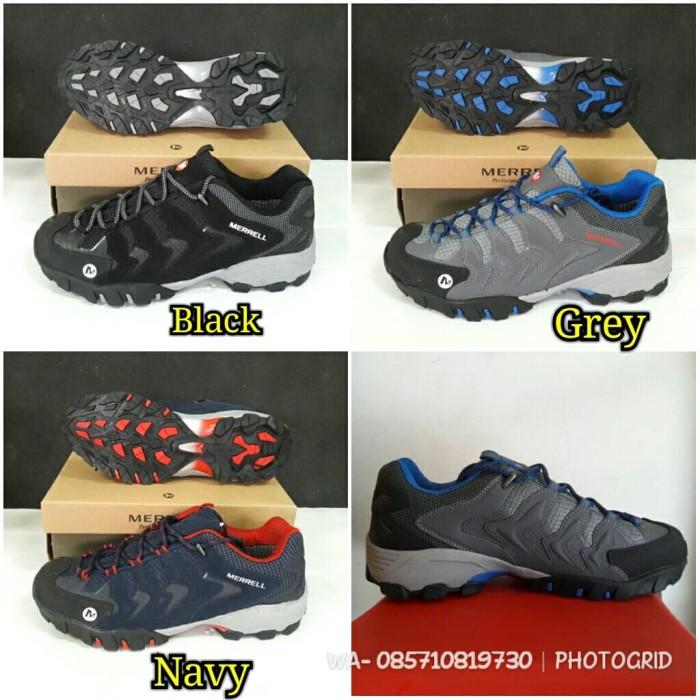 Jual sepatu outdoor merrell merel waterproof vibram goretex sangat ... cb792fa447