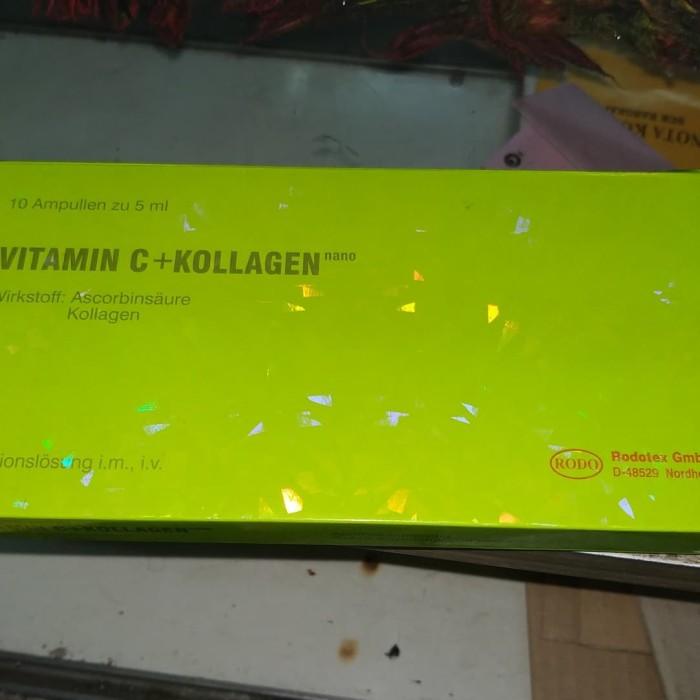 Vitamin c colagen vit c kolagen rodotex ijo rodo hijau pitamin c