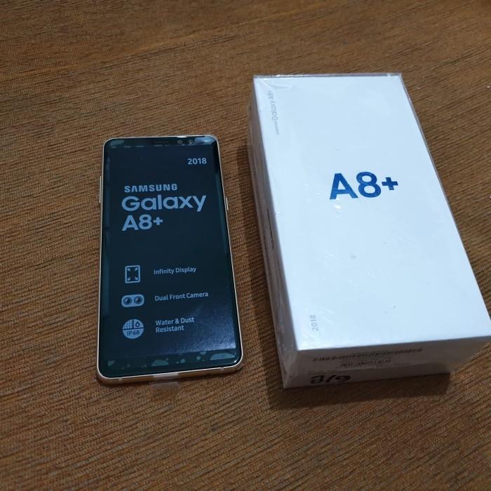 Jual Samsung A8 Plus Ram 6 Fullset Kota Balikpapan Ilham Pusat