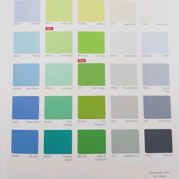 Katalog Warna Cat Mobil Nippon Paint Ide Perpaduan Warna