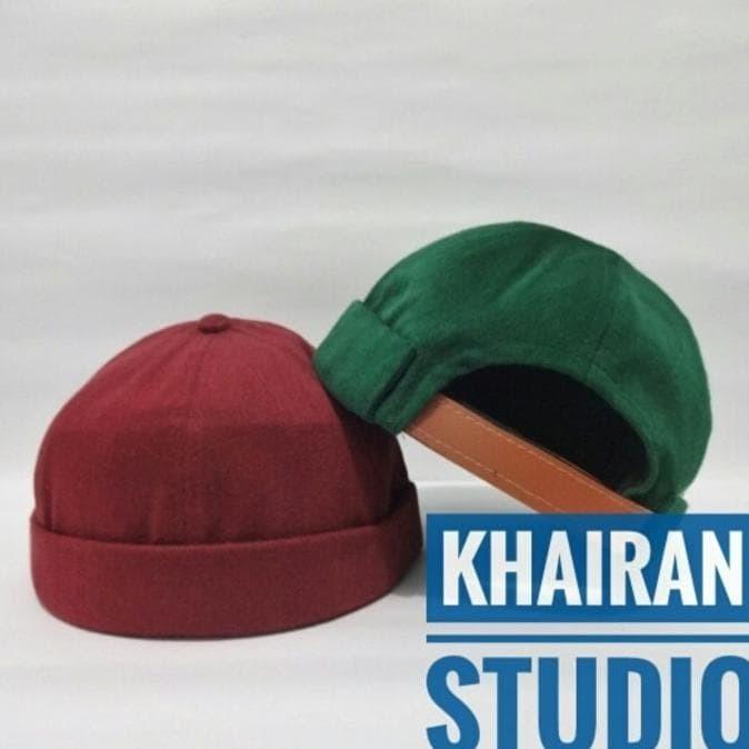 Best Miki Hat Peci Topi Beanie Cap Peci Hijrah High Quality - Hitam e68ed488cf
