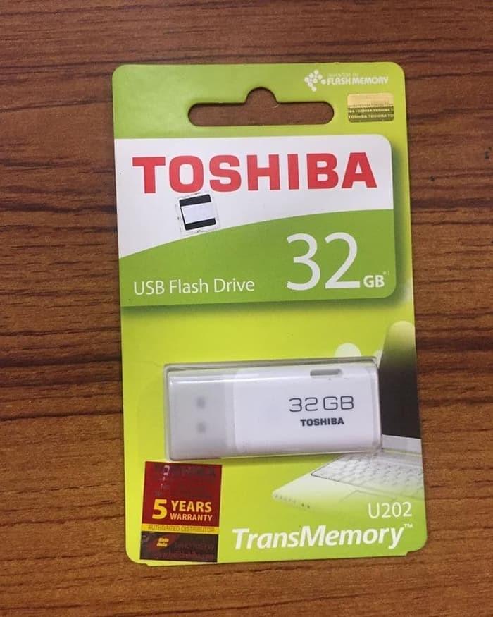 Flashdisk Toshiba 32GB Original - Putih
