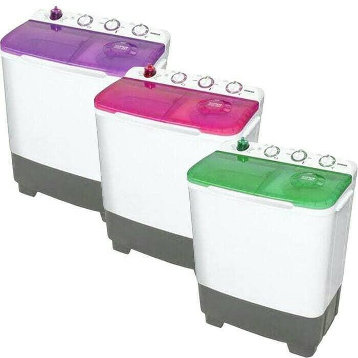 STOK TERBATAS Mesin cuci sanken warna warni 8700
